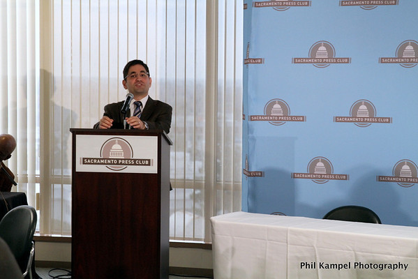 Sacramento Press Club luncheon 111512