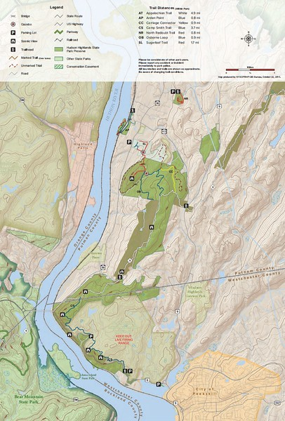 Hudson Highlands State Park Preserve (South)