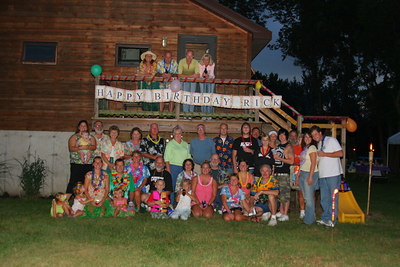 August: Rick's 40!