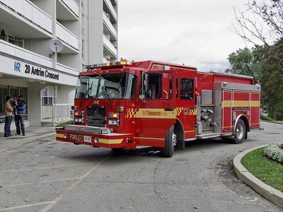 October 21, 2011 - 2nd Alarm - 20 Antrim Cres.