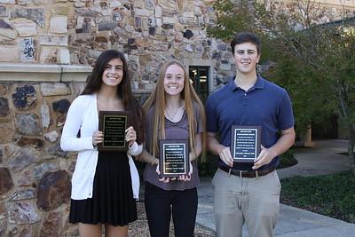Ray Tate Scholarship Winners