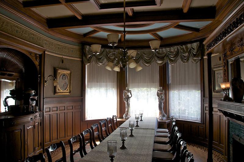 Wiedemann Hill Mansion - one of 2 dining areas