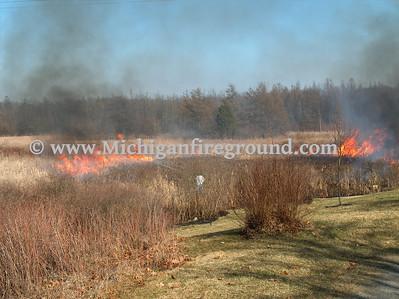 4/7/08 - Rives-Tompkins Twp swamp fire, 10215 Easton