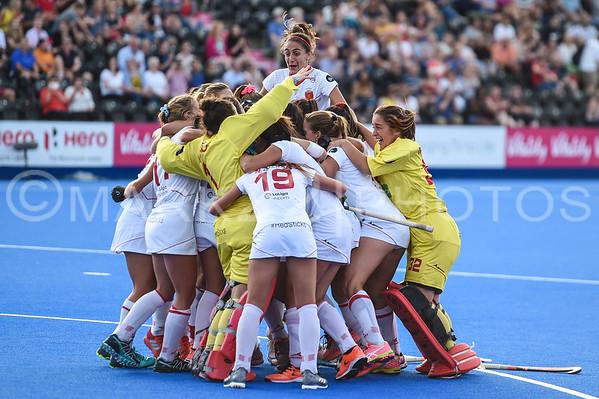 2018 Hockey World Cup Quarterfinal, Spain vs. Germany