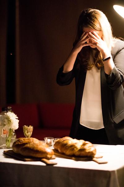 Elevated Shabbat cannabis themed dinner celebrating the Jewish Sabbath