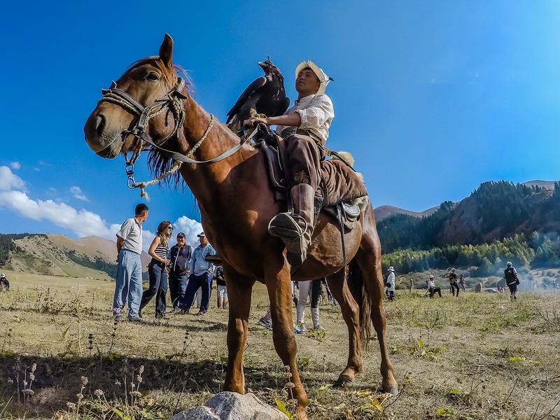 Eagle Master in Kyrgyzstan