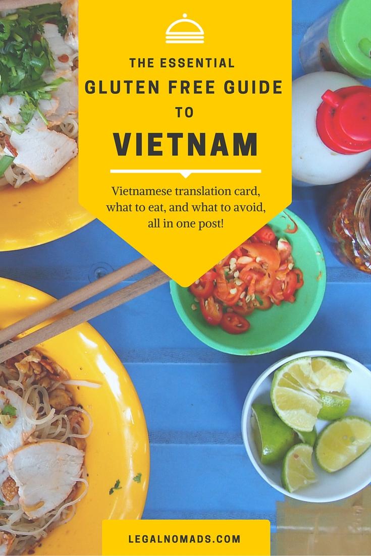 gluten free guide vietnam