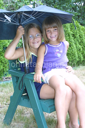 Lyndsey & Cortney Clavette - July 26, 2002