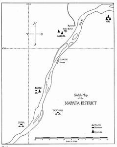 Karte Napata Gebiet