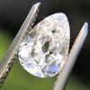 2.49ctw Antique Pear Diamond Pair GIA E VS2/GIA D VS2 15