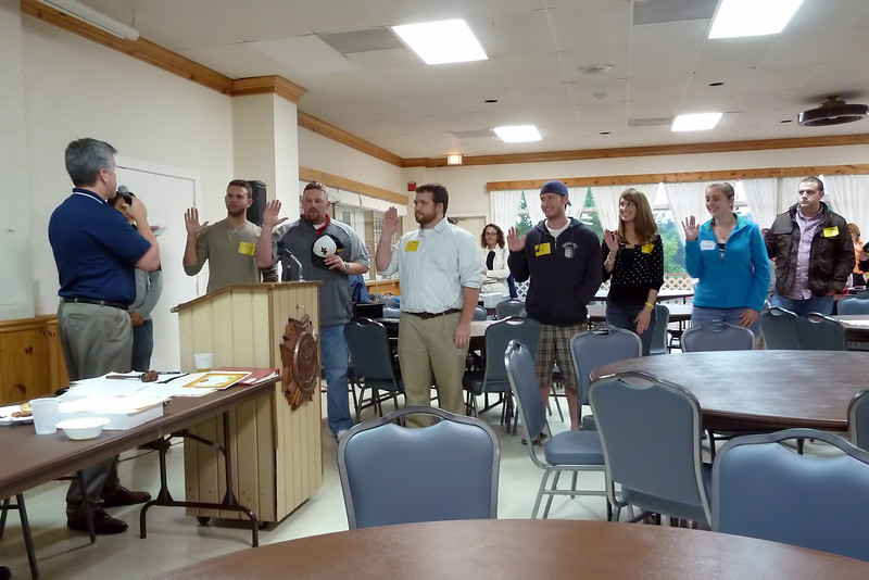 Swearing in new members 6-8-2010.jpg