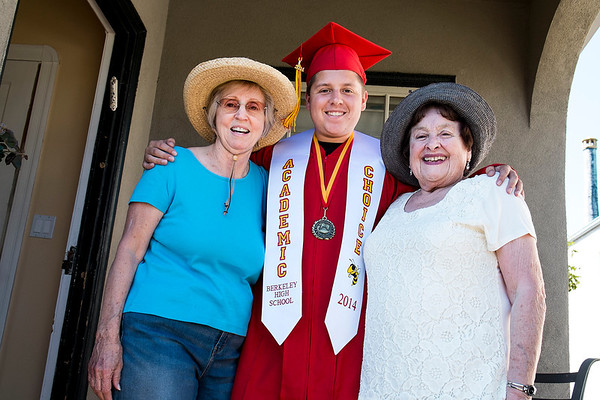 Isaac's High School Graduation-June 2014