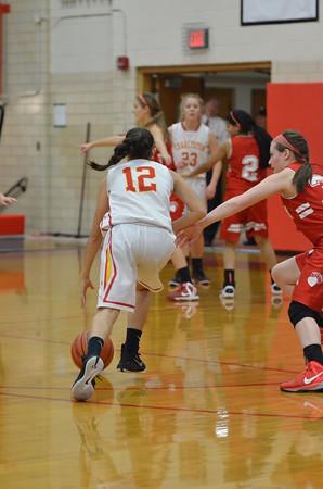 CHS Girls Basketball vs Effingham 12/4/14
