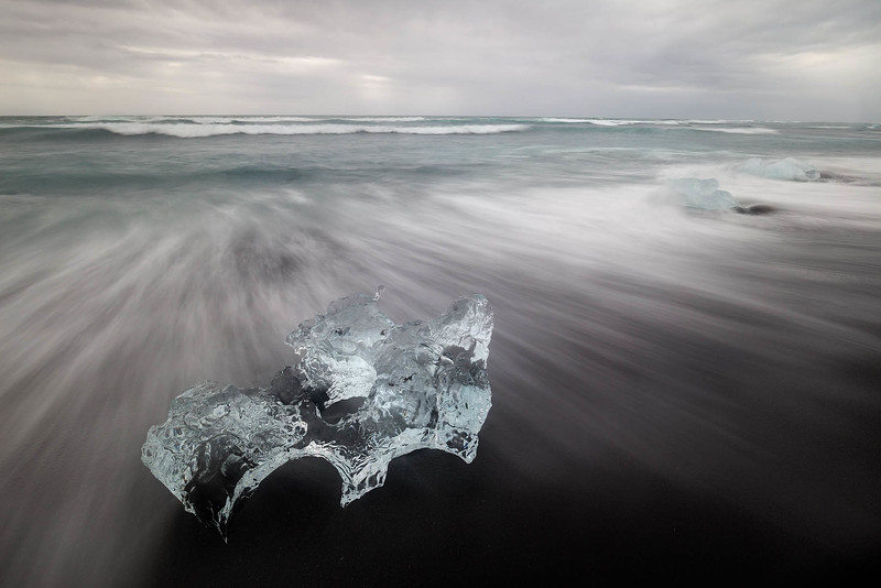Ice on the Beach