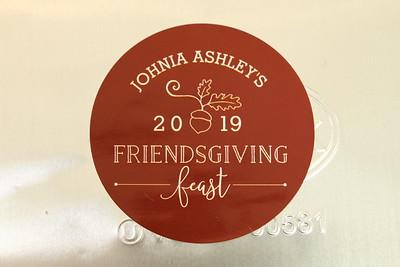 NOVEMBER 17TH, 2019: JOHNIA'S FRIENDSGIVING