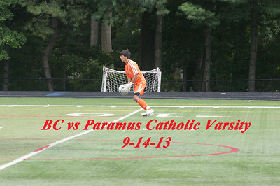 BC vs Paramus Catholic  Varsity