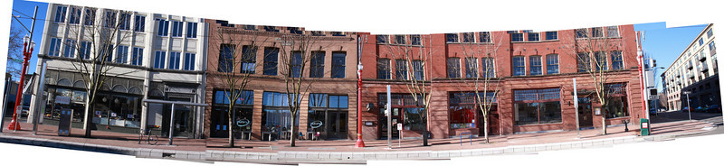 An external view of the Couch & Davis 5th Street Block.  It is probably my favorite block in the city.