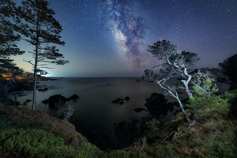 The Cove & Milky Way