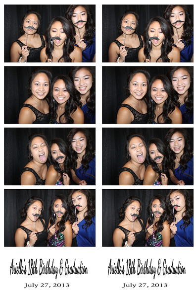 Arielle's 18th Birthday and Graduation July 27, 2013