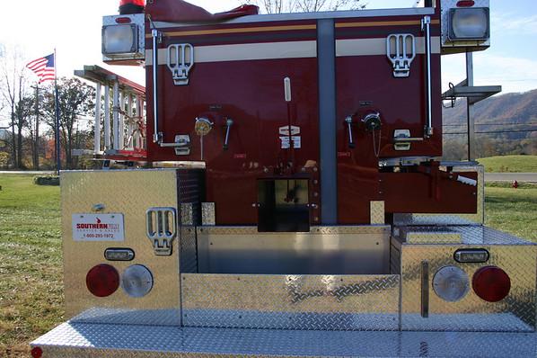 Limestone Cove's New Fire Truck