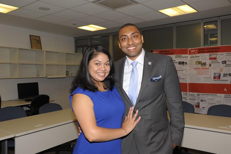 New York State Senator Jamaal T. Bailey and wife Mara Bailey