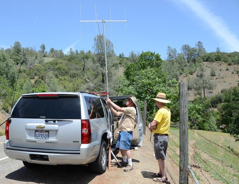 Big Canyon radio communications (Ken Alvey KG6TXU)