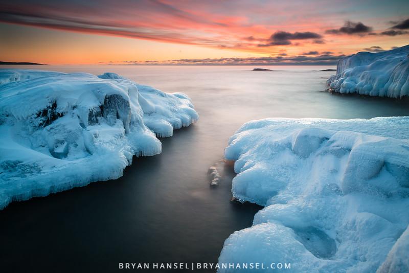 Artist's Point Winter Sunrise