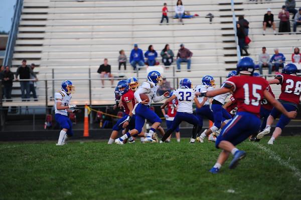 Iola football at Wellsville 9-18-20