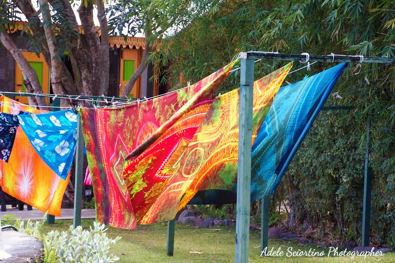 Hand Dyed Batik Fabric