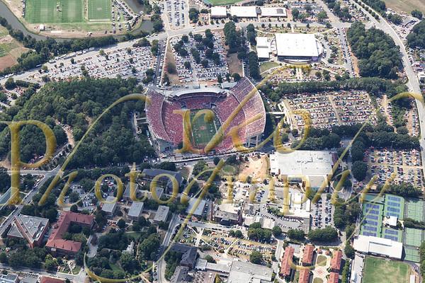Aerials - Clemson vs Auburn - 9-17-11