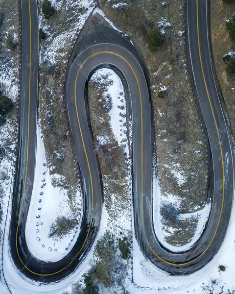 Frankieboy Photography | Winding Road | Aerial Art Photography