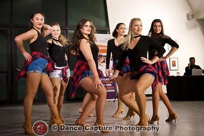 Bachata Ladies Shines team