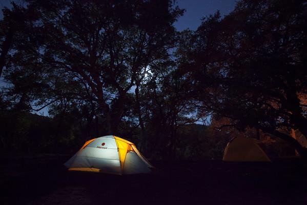 Camping at Nameless