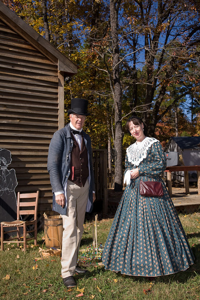 Jim Williams (19th century cobbler) of of Charlotte and Lisa AnnWilson (Clara Barton) of Mint Hill.