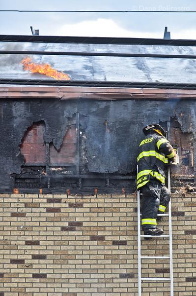 4-25-12 Elmwood Park, NJ 2nd Alarm: 30 Stefanic Avenue, Bergen Industrial Supply Company
