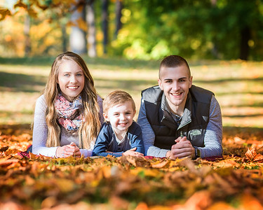 Bobby, Kelsey & Hudson Ward fall 2017