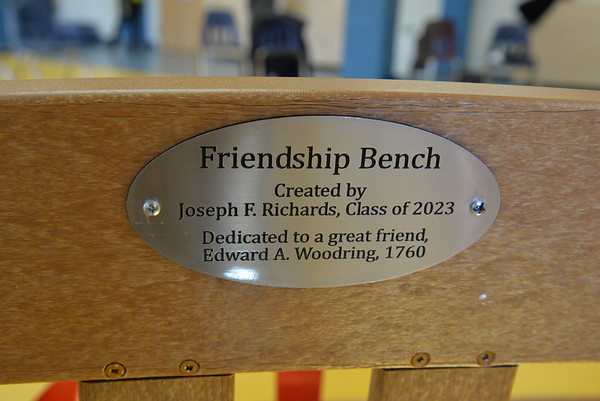 Lower School Friendship Bench Dedication