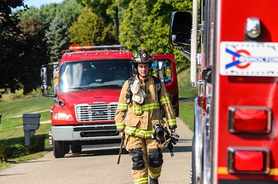09-21-15 Three Rivers FD Garage Fire
