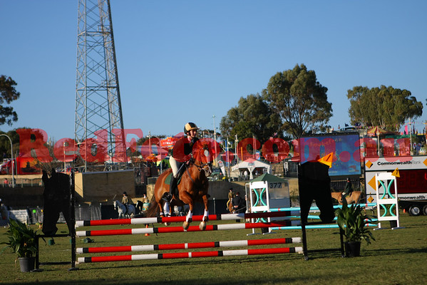 2009 09 30 Perth Royal Show ShowJumping Pony Jumper Take Your Own Line
