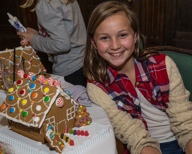Short Hills Gingerbread Houses