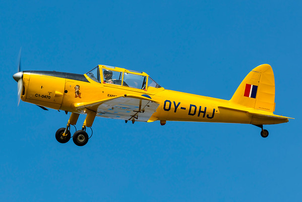 OY-DHJ - DHC-1 Chipmunk Mk21