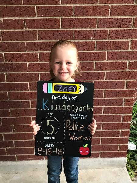 Zoey | Kindergarten | Deer Creek Elementary School