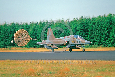Non-U.S. Northrop F-5 Freedom Fighter Parachute Airplane Pictures