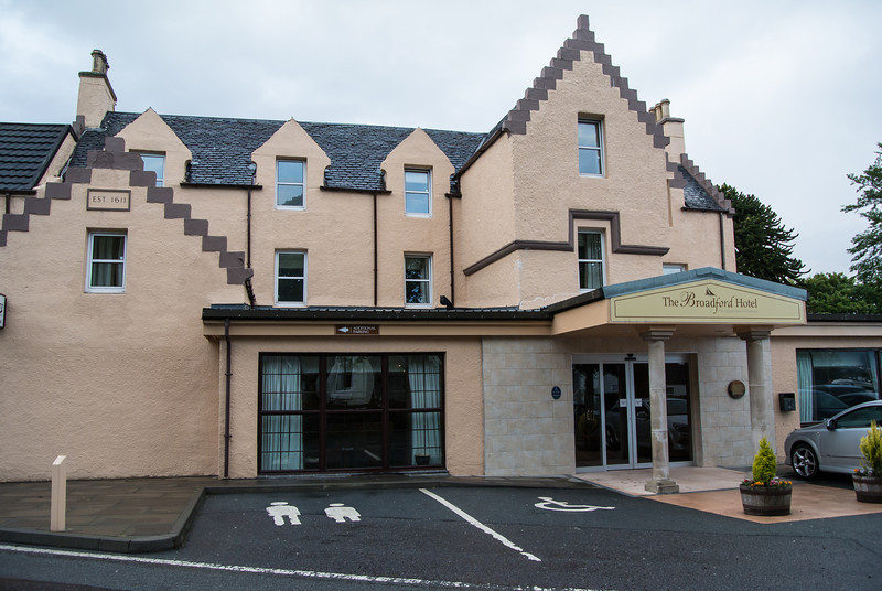 We stayed two nights at the Broadford while on Skye
