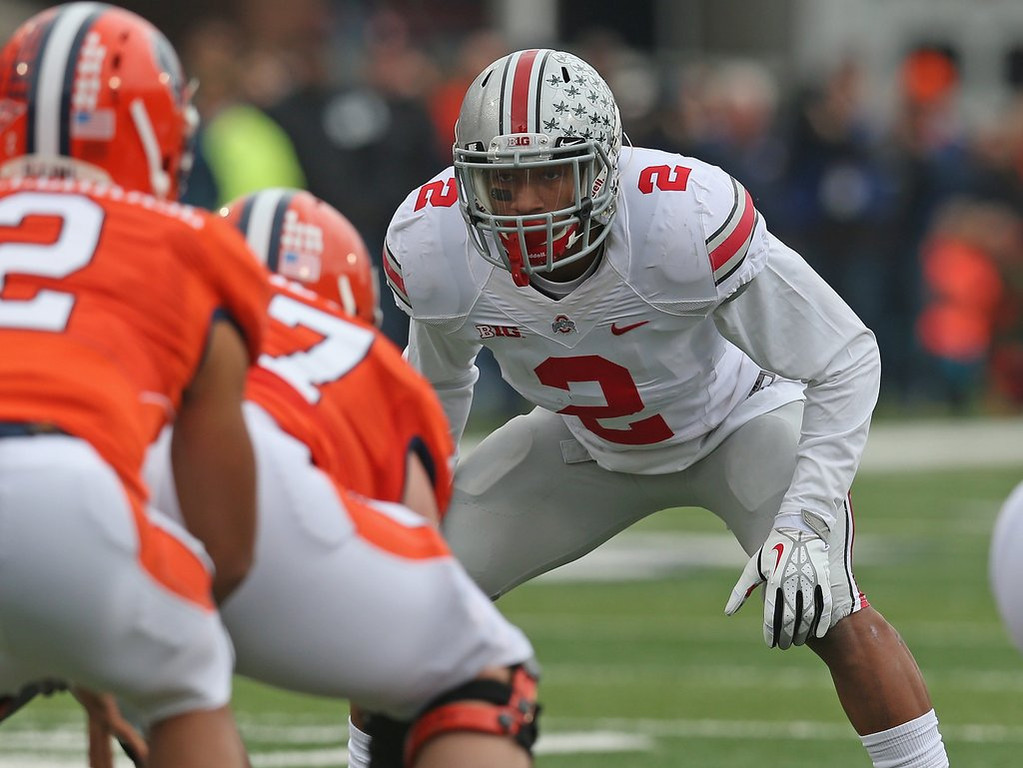 . <p><b>21. Green Bay: Ryan Shazier, LB, Ohio State. </b> <p>With Shazier joining A.J. Hawk, there figures to be lots of humming of the Ohio State fight song in linebacker meetings.   (Jonathan Daniel/Getty Images)