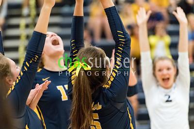 2017.09.07 Volleyball: Woodgrove @ Loudoun County