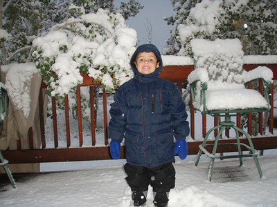 First Snow of 2006