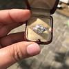 2.23ct Old European Cut Diamond Edwardian Solitaire GIA I VS1 21