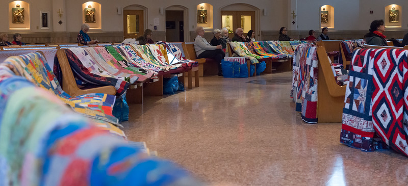 Blessing of the Quilts December 2017