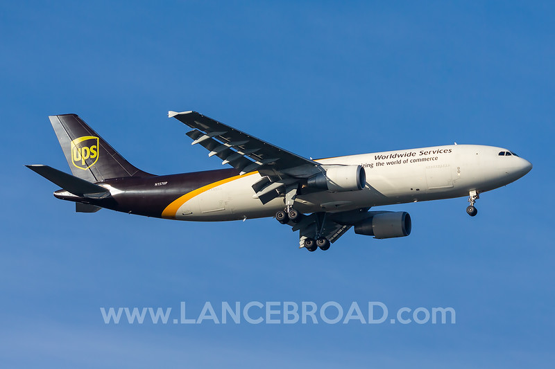 UPS A300F4-600 N157UP - MCO